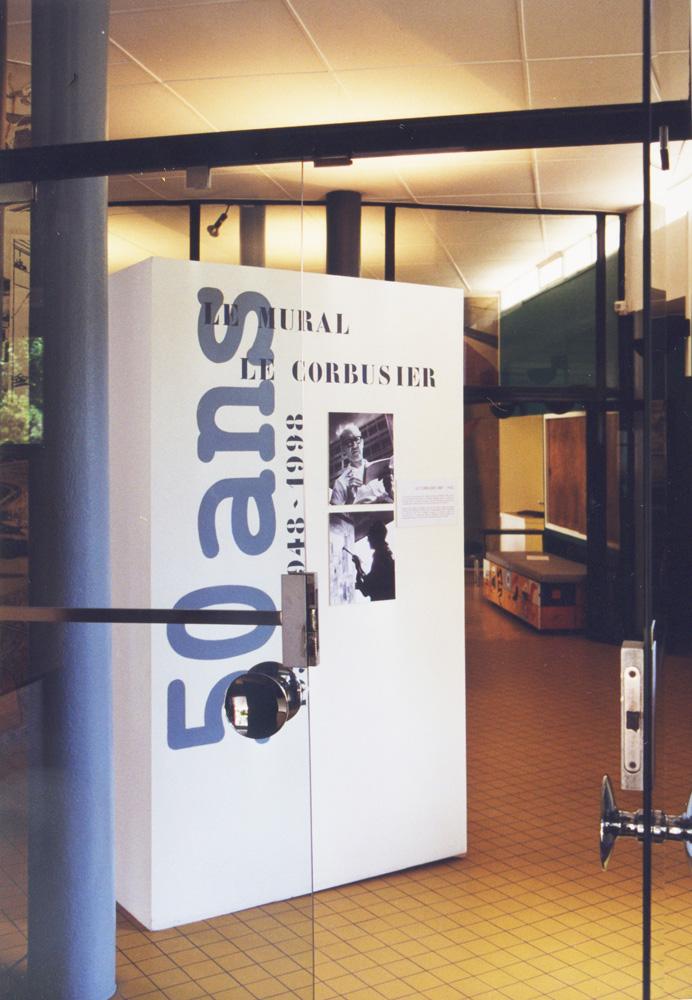 Le Corbusier Exposition 1998 @ Fondation Suisse CIUP Paris Scénographie Jérôme Liniger