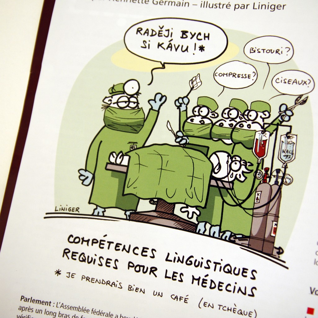 dessin de press - Liniger - mai-juin-2015