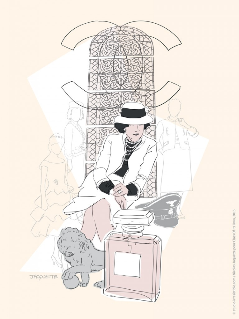 illustration_coco-chanel_class-of-its-own_studio-irresistible-05