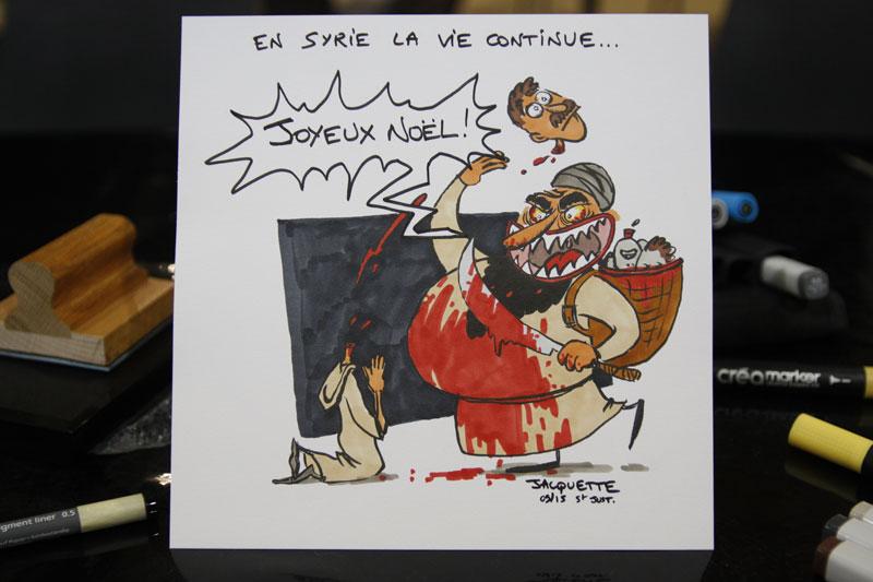 studio-irresistible - saint-just-2015-dessin de presse - nicolas jacquette