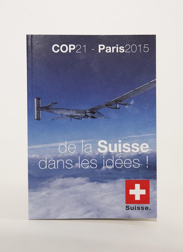 Studio Irrésistible_Brochure Cop 21_ Ambassade de Suisse en France