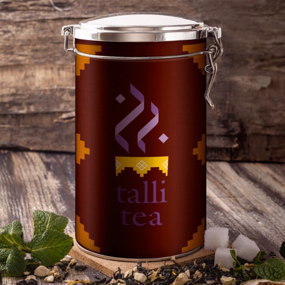 talitea label pour une marque de thé du Maroc