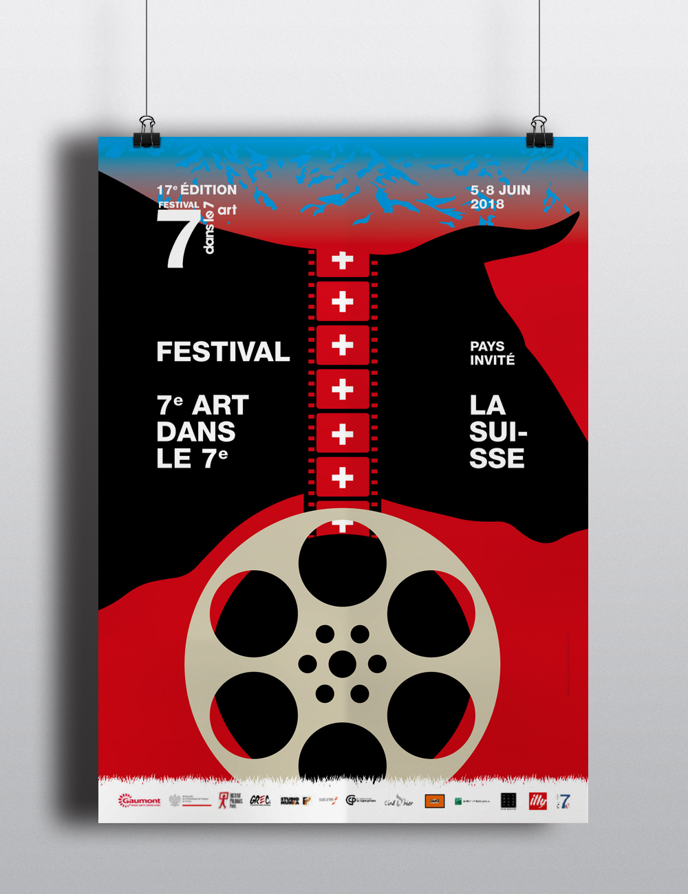 Agence Si _ Jerome LINIGER _ Affiche de cinema 1-11