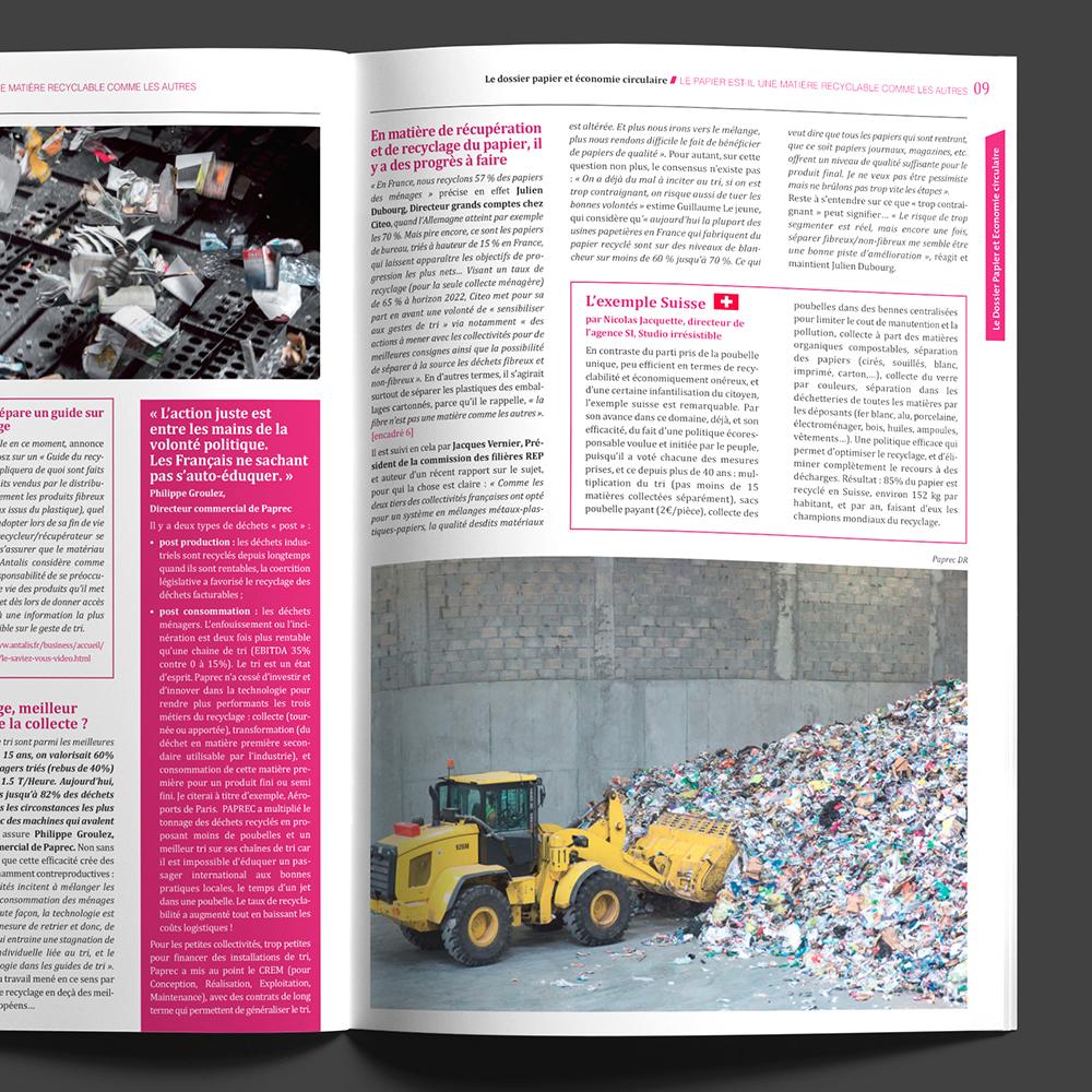 Culture Papier #29 - p09 Jacquette