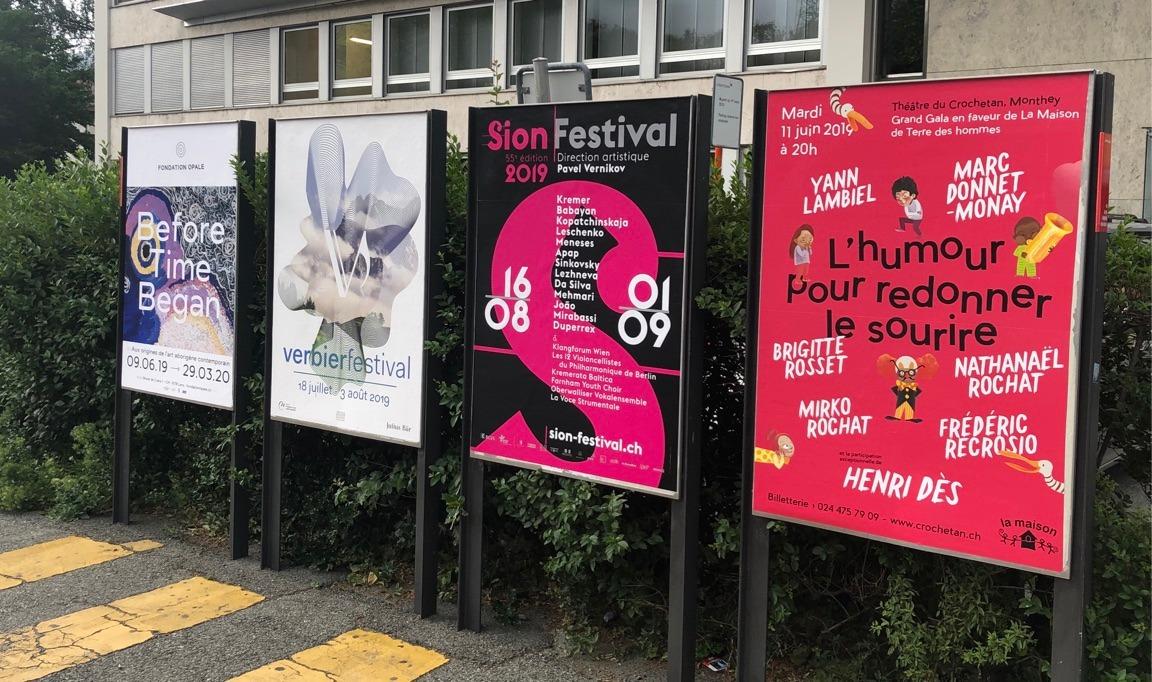 Sion Festival 2019 en Ville de Sion @ Agence Si