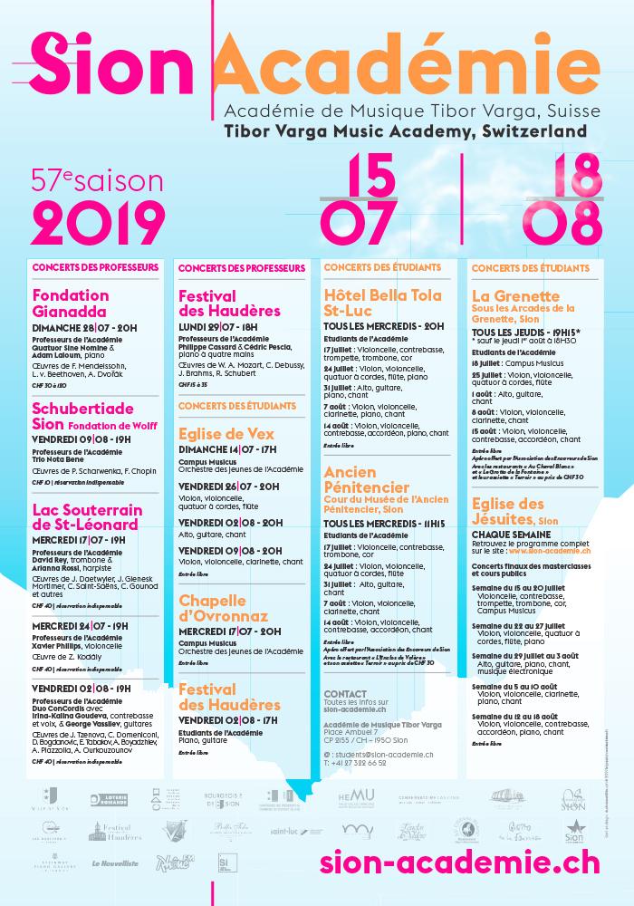 Sion Académie 2019 par l'Agence Si Paris