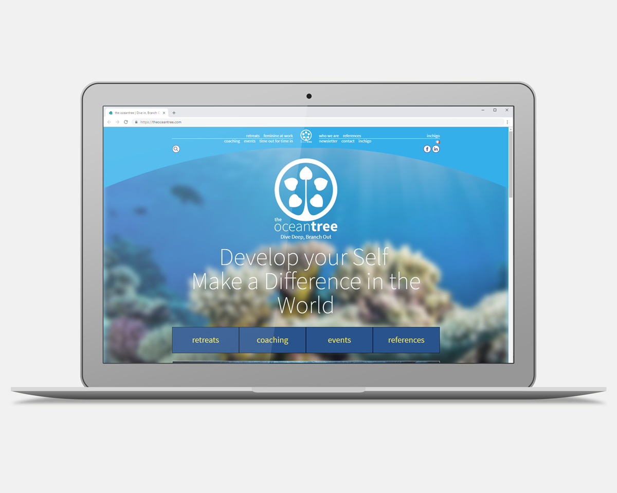 The Ocean Tree WebDesign Agence Si Studio irresistible Paris