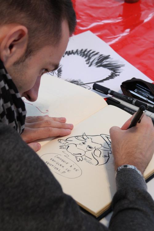 studio irresistible - news - Festival du Dessin de presse et de la caricature de Saint Just le Martel - 2010 - Nicolas Jacquette